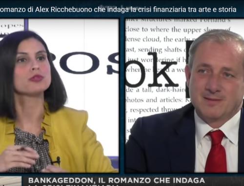 Bankageddon, il romanzo di Alex Ricchebuono che indaga la crisi finanziaria tra arte e storia